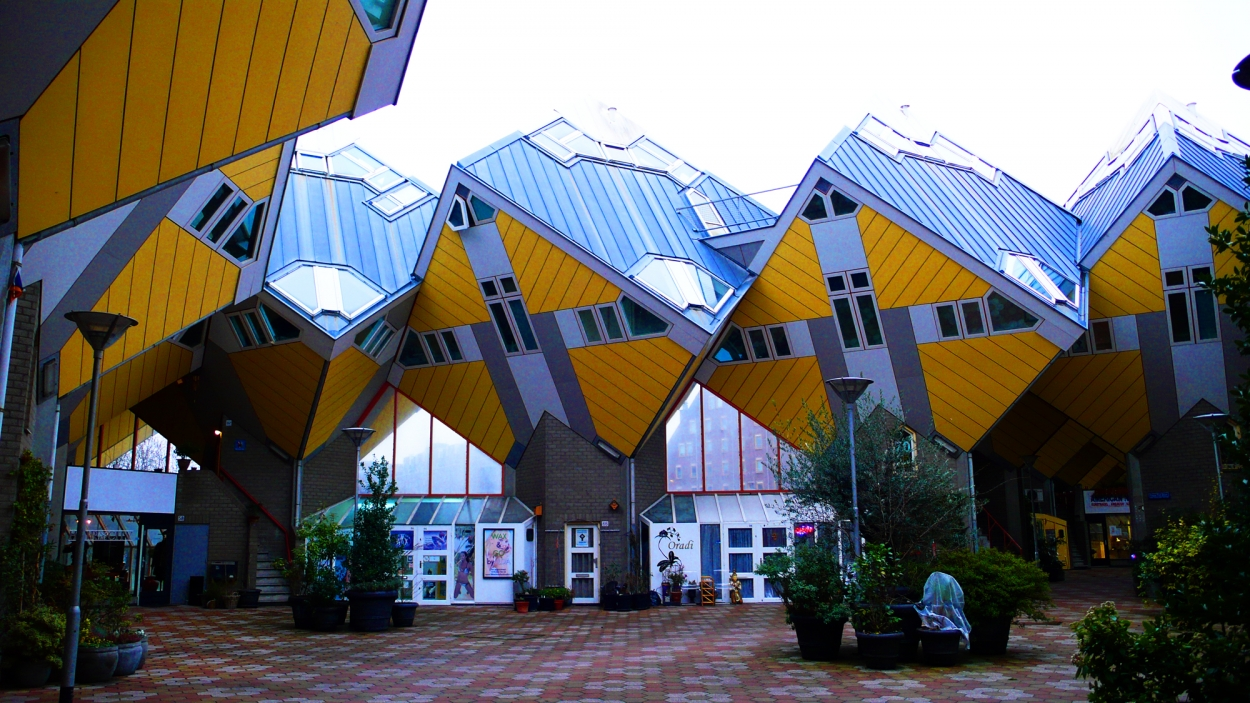 Cube Houses, Rotterdam, Holland