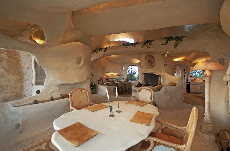 Flintstones House, Malibu, California, USA