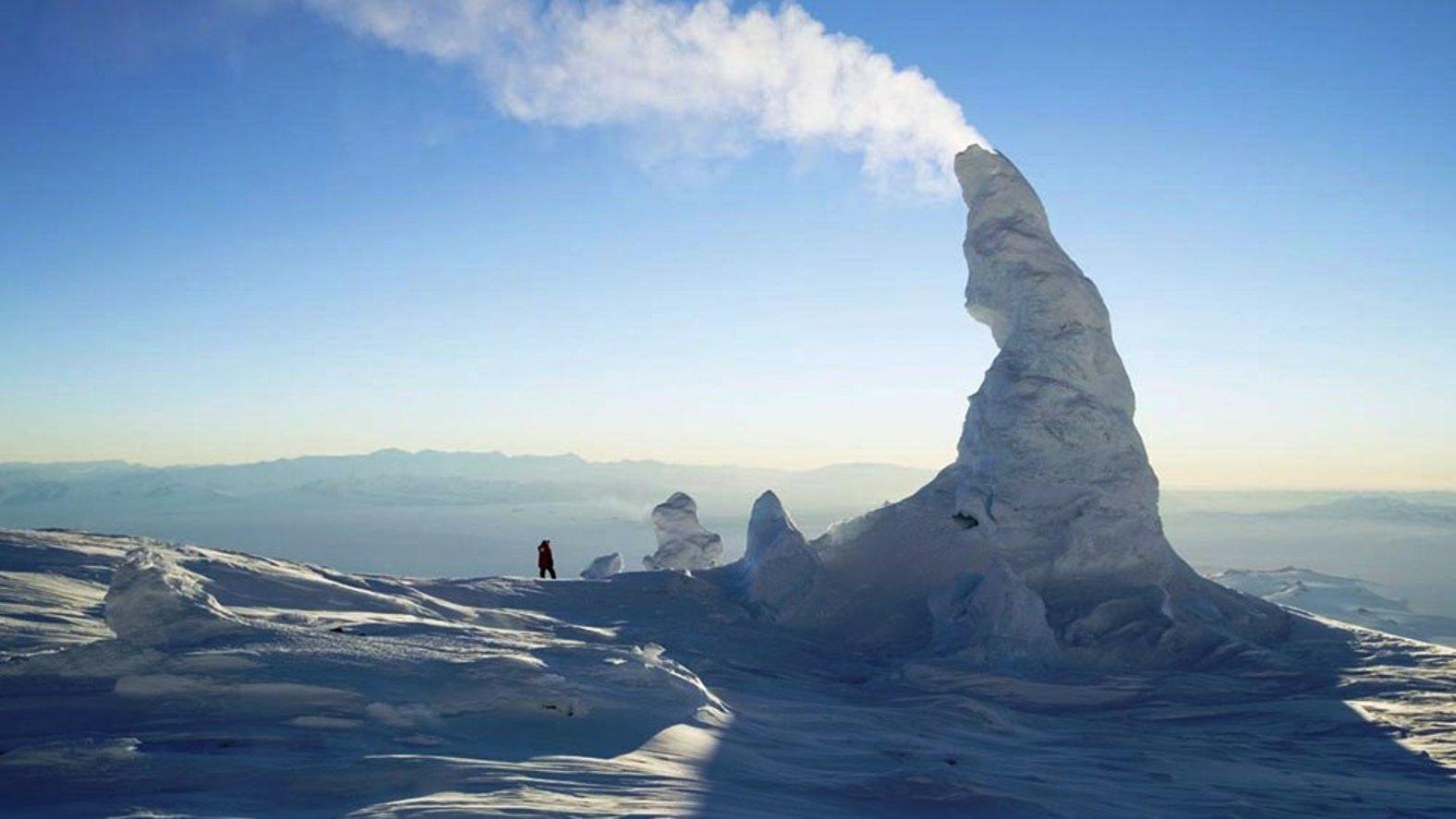 Ice Fumaroles, Antarctica