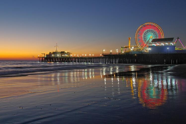 Santa Monica Pier, Los Angeles
