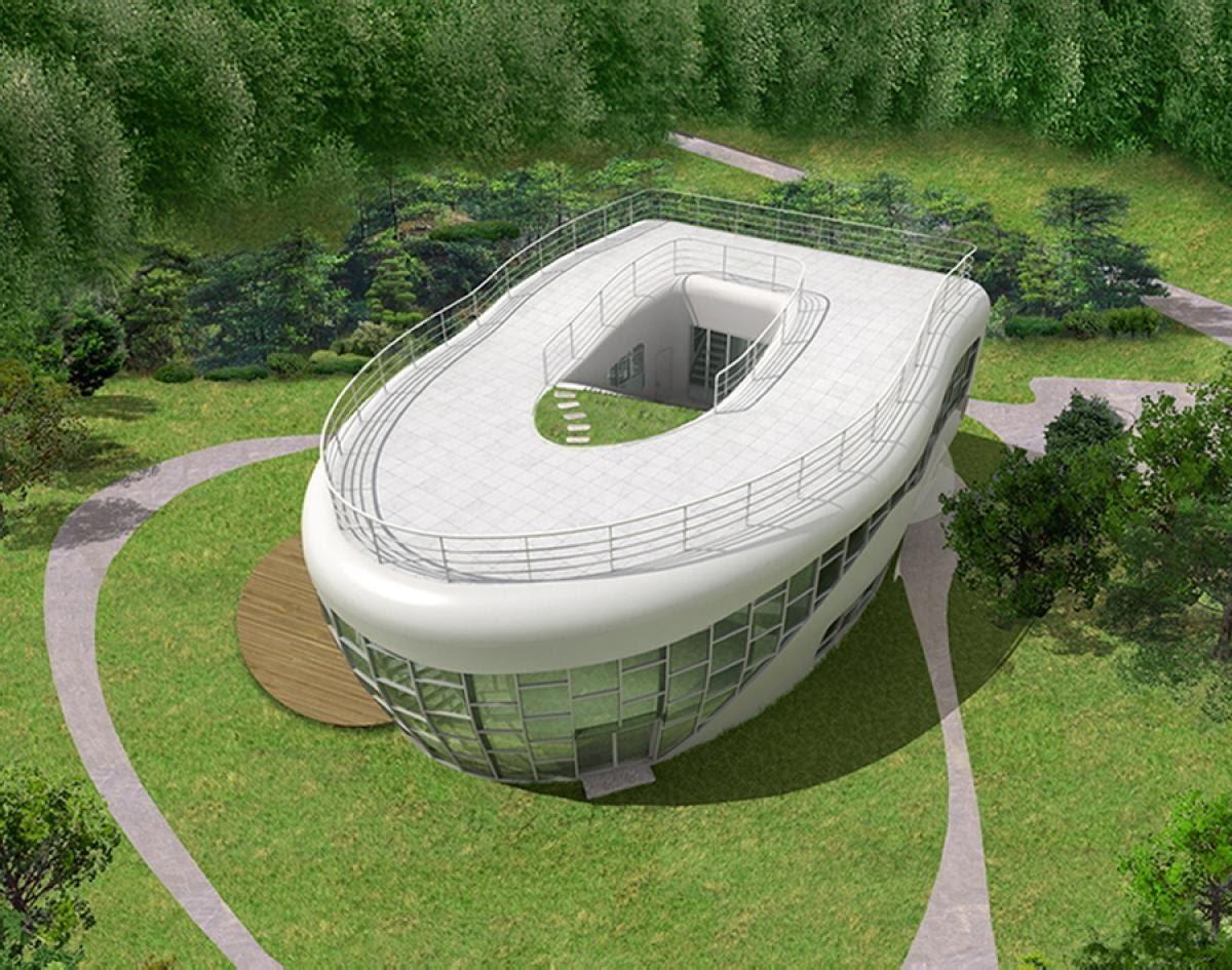 Toilet Bowl House, Suwon, South Korea