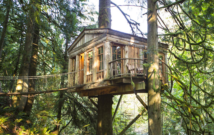 TreeHouse Point, Issaqueah, Washington, USA