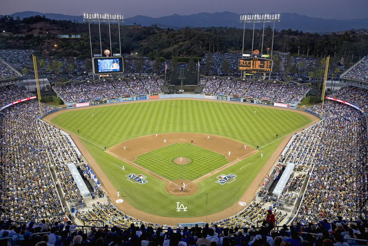 Dodgers Stadium, Los Angeles, California