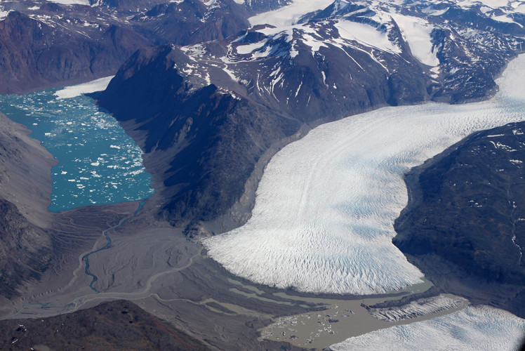The Blue River, Greenland