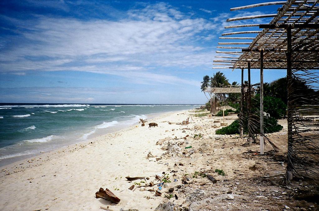 Nauru, 21 sq. km