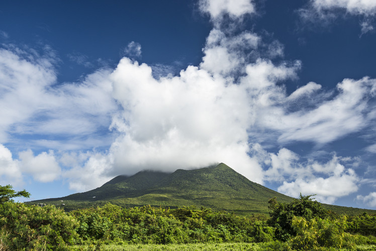 St Kitts and Nevis, 216 sq. km