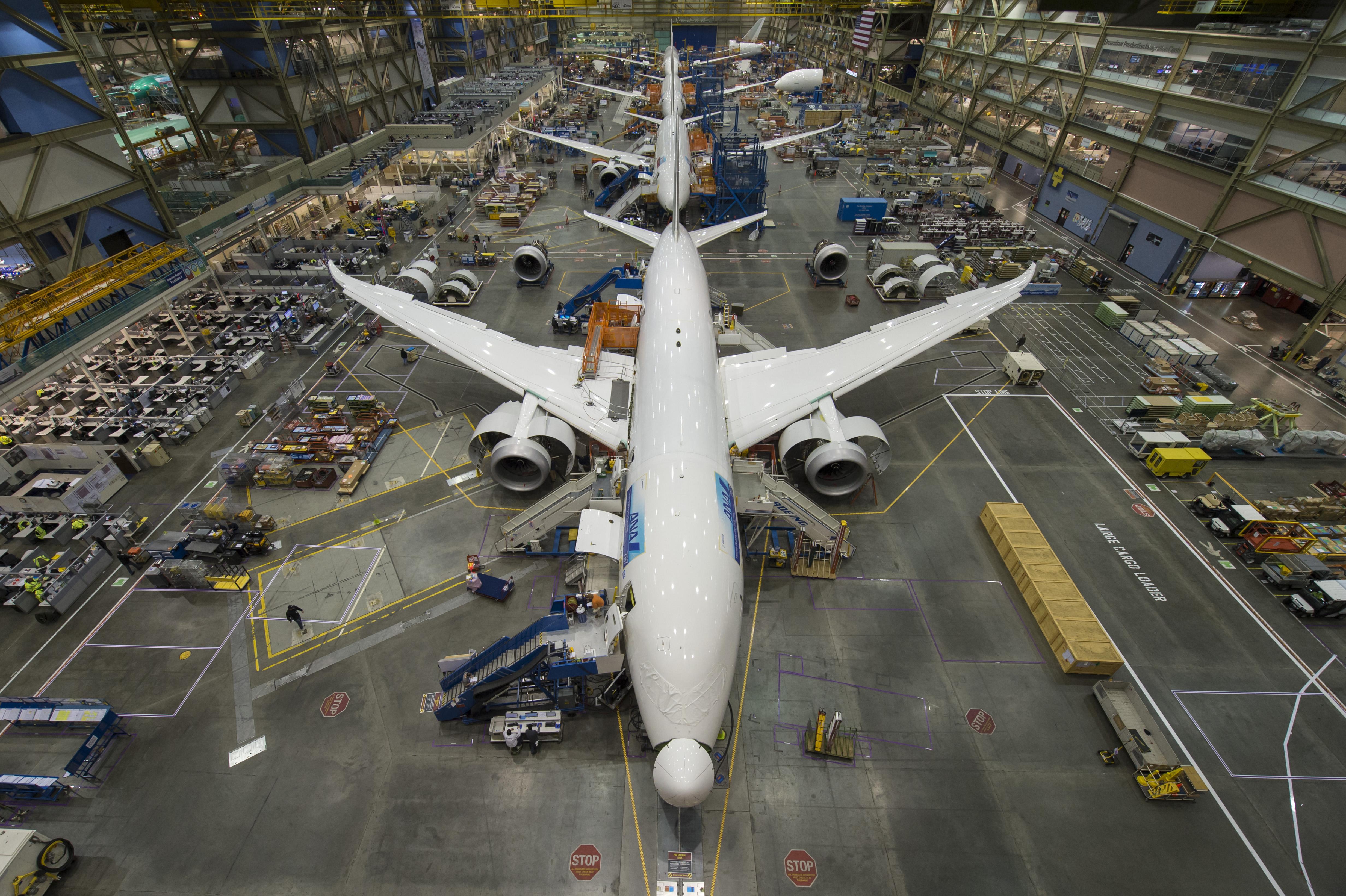 Boeing plant