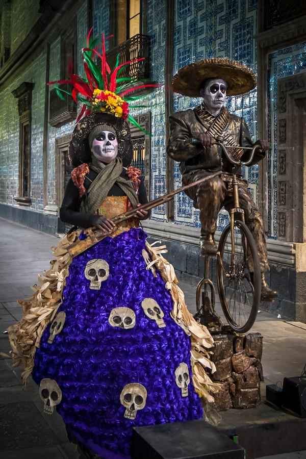Dia de los Muertos, Mexico City, Mexico
