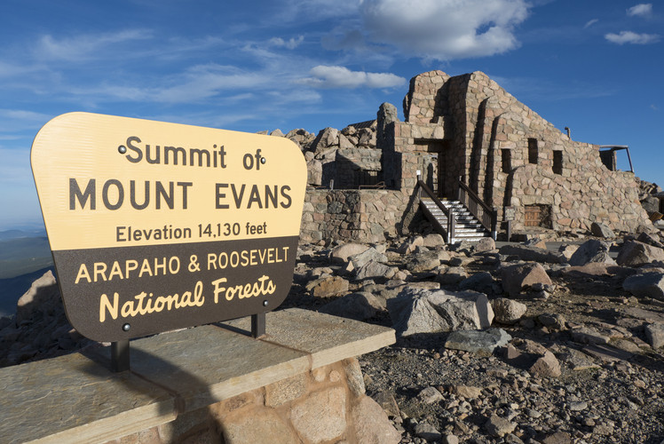 Drive the Mount Evans Scenic Byway