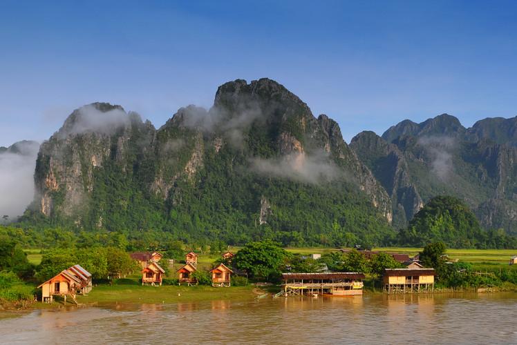 Mekong River, Laos, Thailand, Cambodia and Vietnam