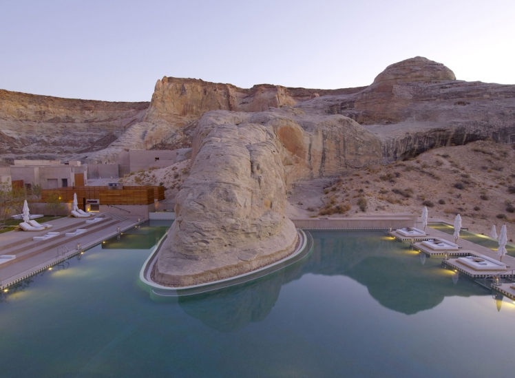 Amangiri, Canyon Point, Utah, USA