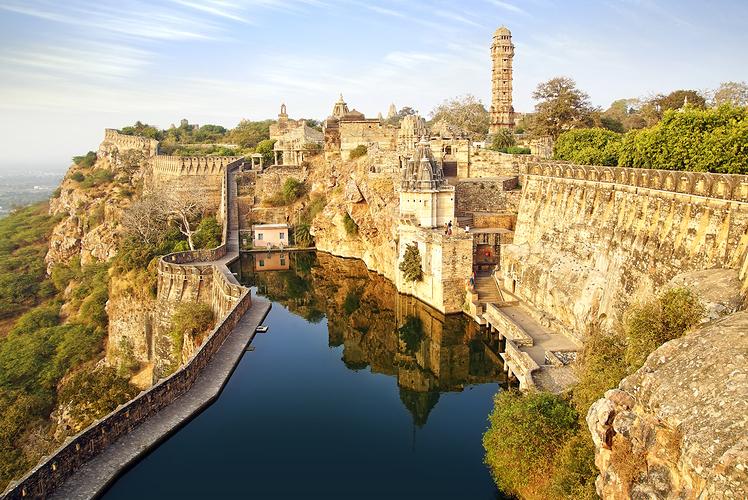 Benteng Chittorgarh, India
