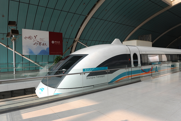 Maglev Train, Shanghai