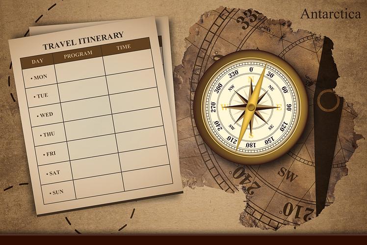 Make an itinerary