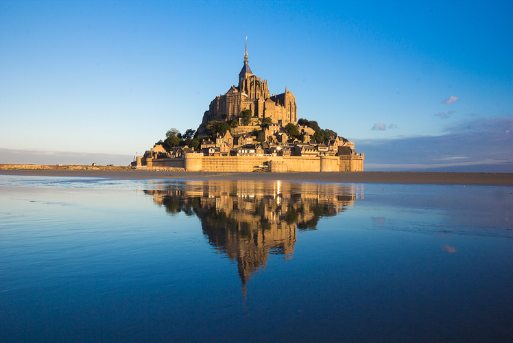 Mont Saint-Michel Abbey, France