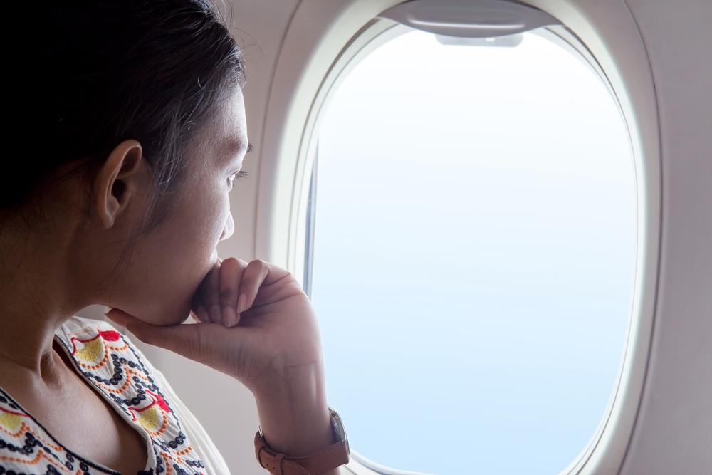window, plane, seat