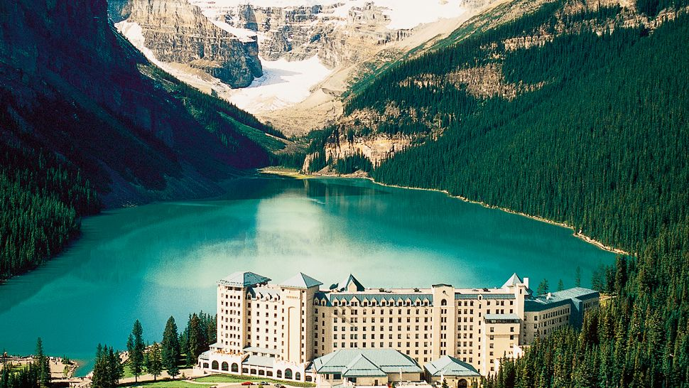 The Fairmont Chateau Lake Louise, Alberta, Canada