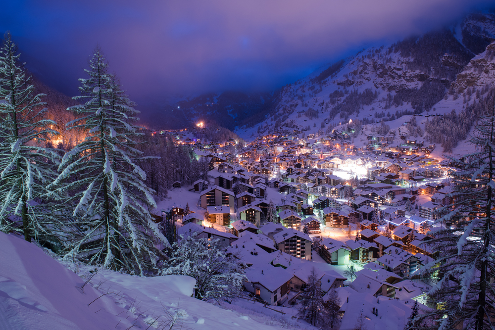 Zermatt Valley, Swiss Alps