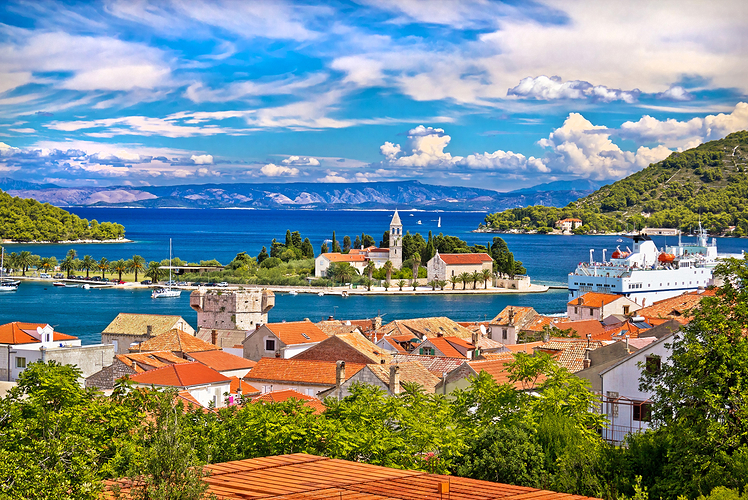Be wowed by the stunning scenery in Croatia