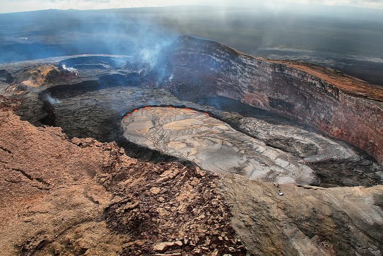 Caldera of Kilauea