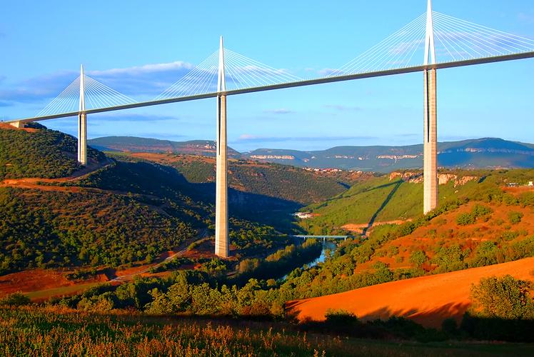Millau Viaduct in Millau