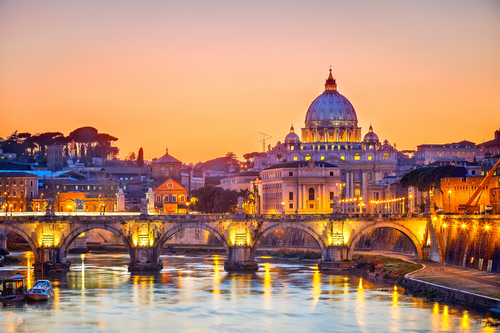travel to Rome, Italy in fall
