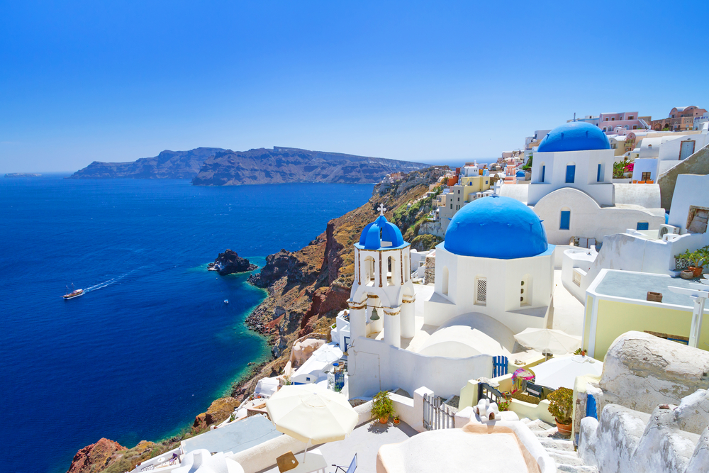 Santorini, Greece is a paradise island