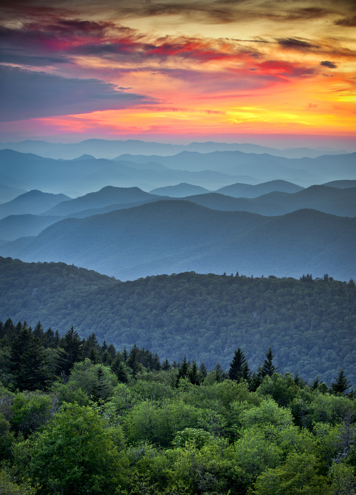 See the Blue Ridge Mountains by Train