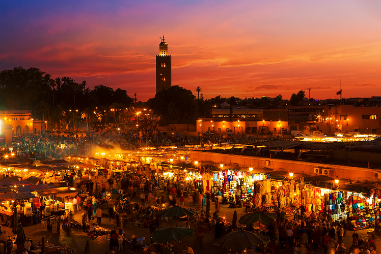 Shop the markets of Morocco