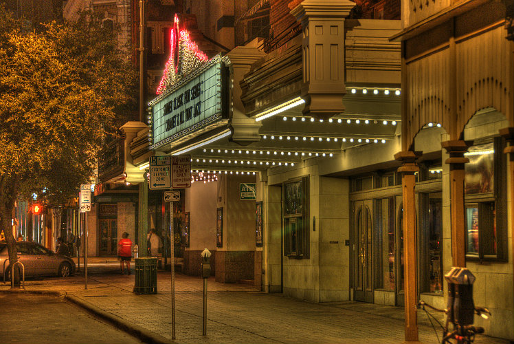 Catch a show at the Paramount Theater