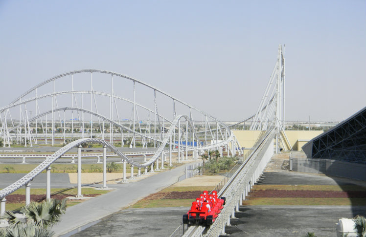 Formula Rossa, Ferrari World, Abu Dhabi, United Arab Emirates
