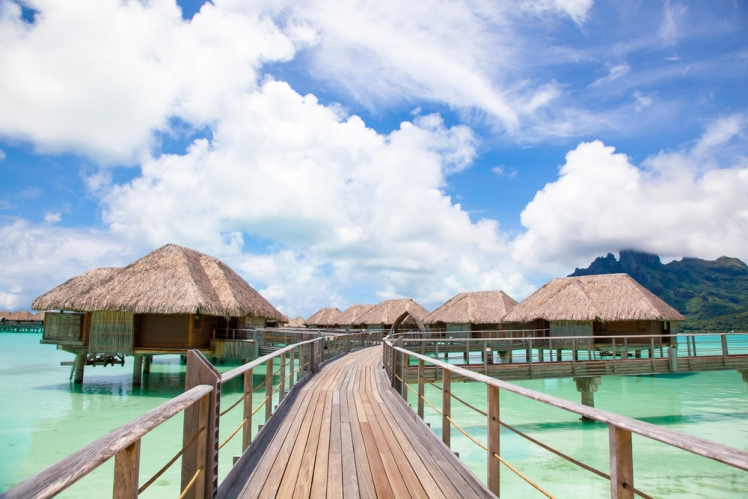 Most Remote Hotels in the World Four Seasons, Bora Bora