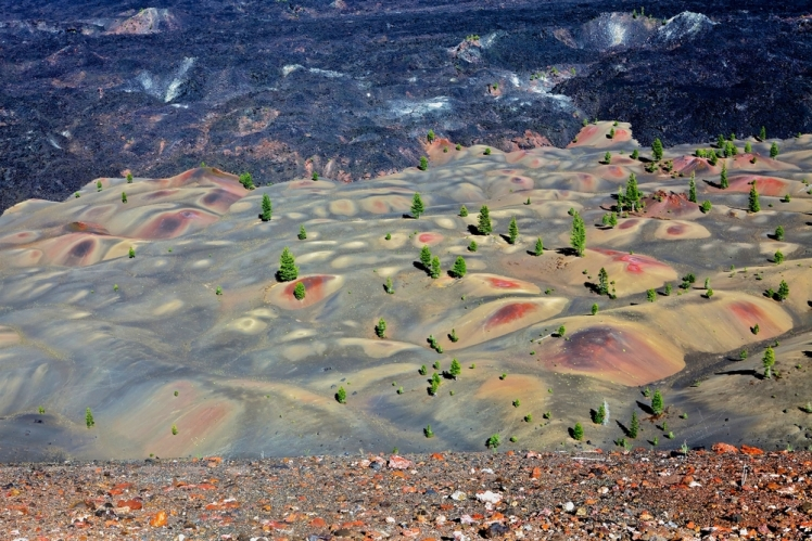 Painted Dunes, Lassen Volcanic National Park, California