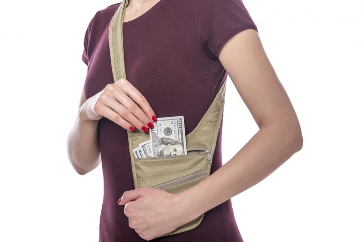 Shorten your purse strap