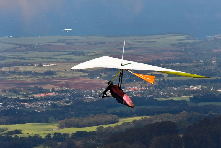 Soar through the air in an engineless glider