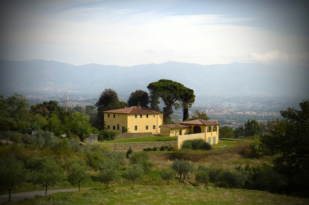 Sting and Trudie Styler's Villa il Pilagio, Italy