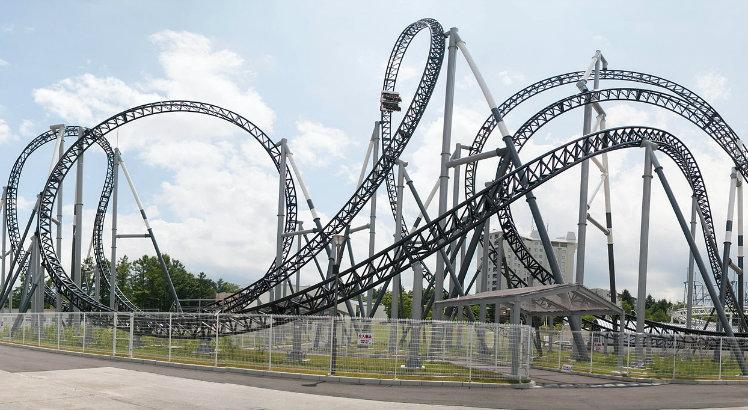 Takabisha, Fuji-Q Highland Theme Park, Fujiyoshida, Japan