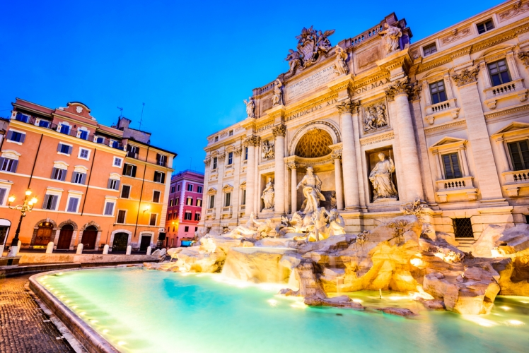 Top Euro destinations for US travelers - Rome, Italy