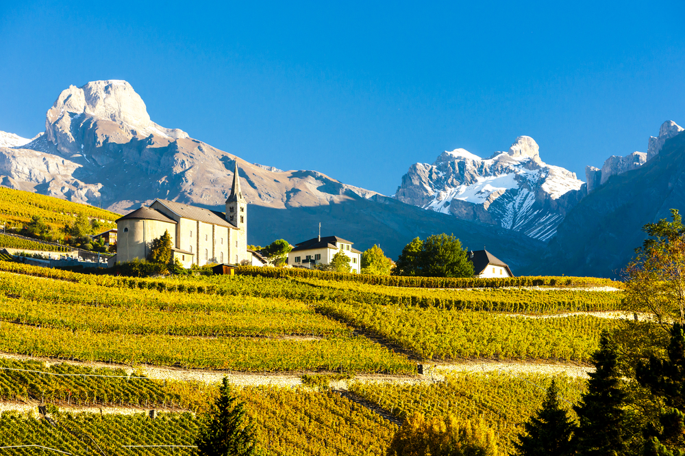 Valais, Switzerland is one of The Top Wine Destinations