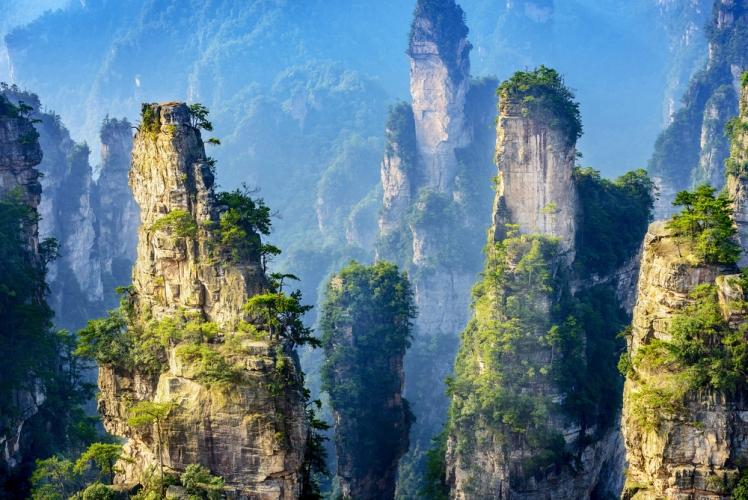 Wulingyuan Scenic Area, Zhangjiajie, China