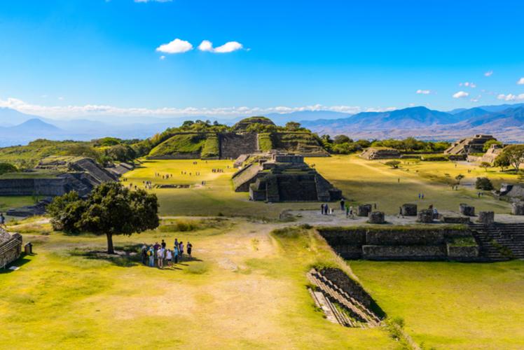 Monte Alban - Oaxaca, Mexico