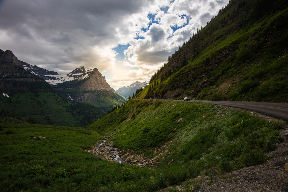 Going-to-the-Sun Road in Montana