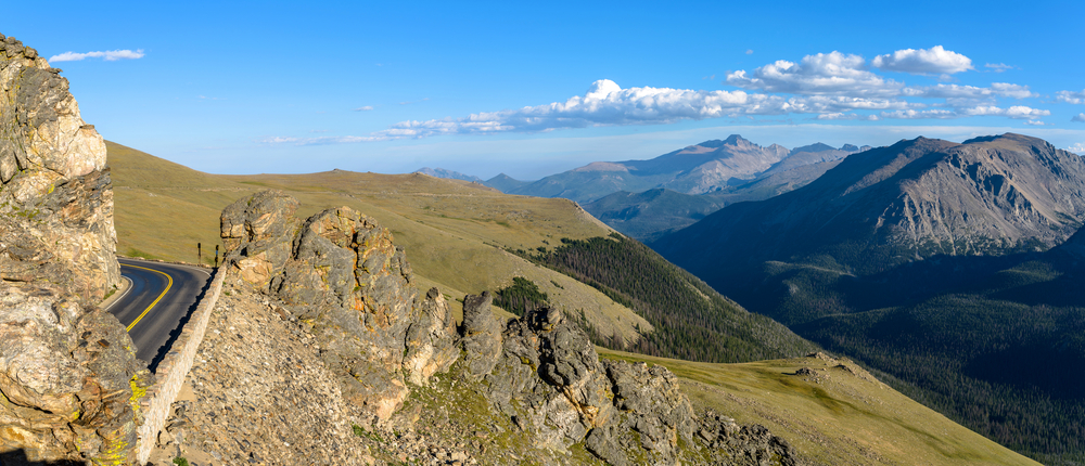 Trail Ridge Road in Colorado