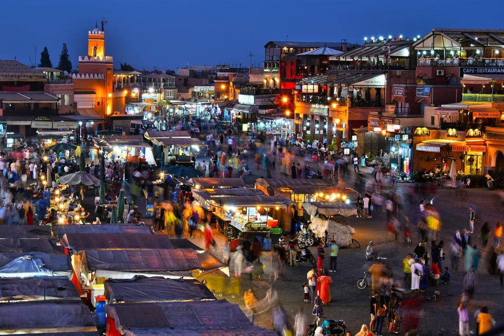 Marrakech Market Morocco