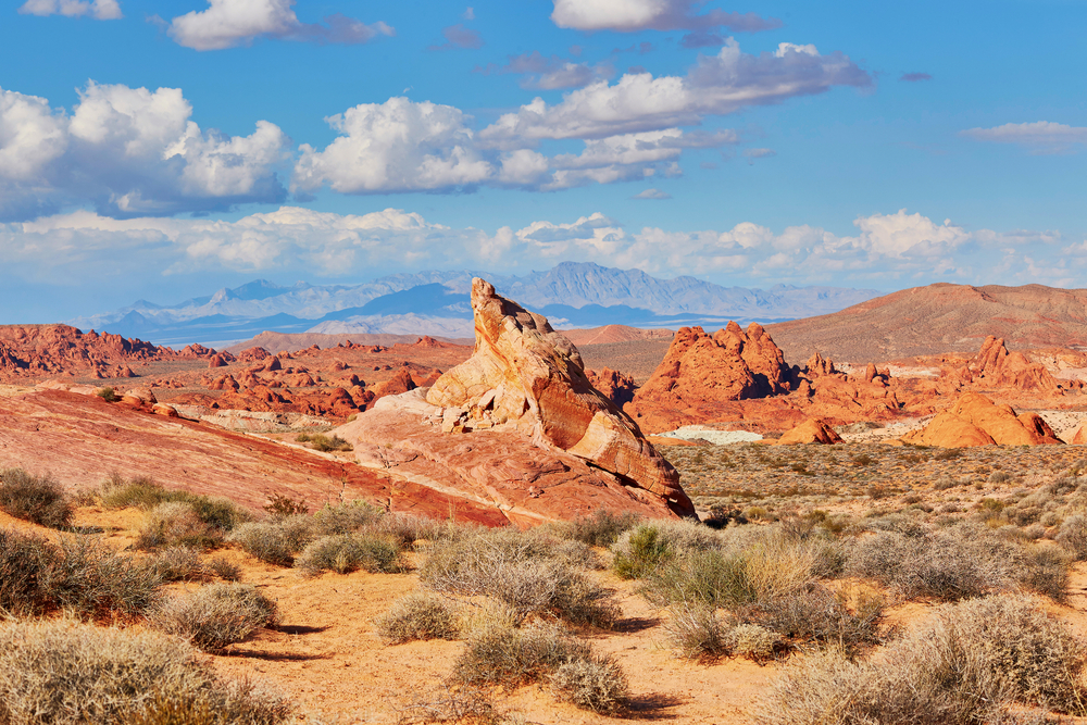 Valley of the Fire national park in Nevada