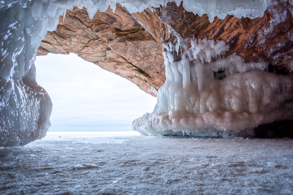 Apostle Island Winter Sea Caves, Wisconsin