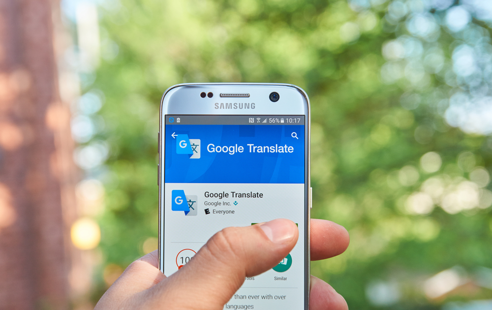 Download a translation app