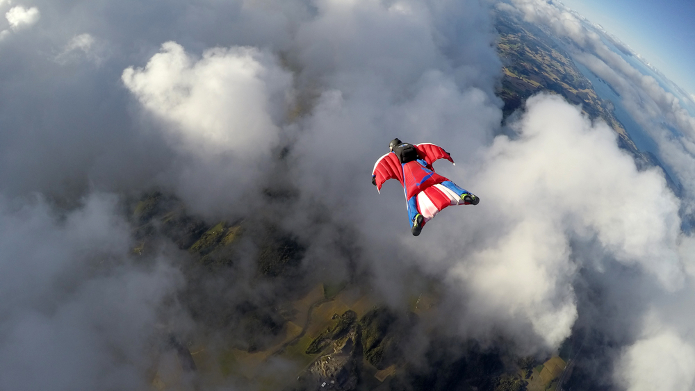 Fly in a Wingsuit, Switzerland