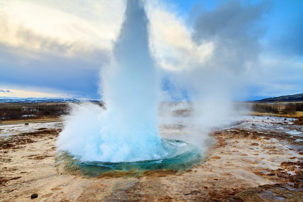 Geysir National Park. Iceland
