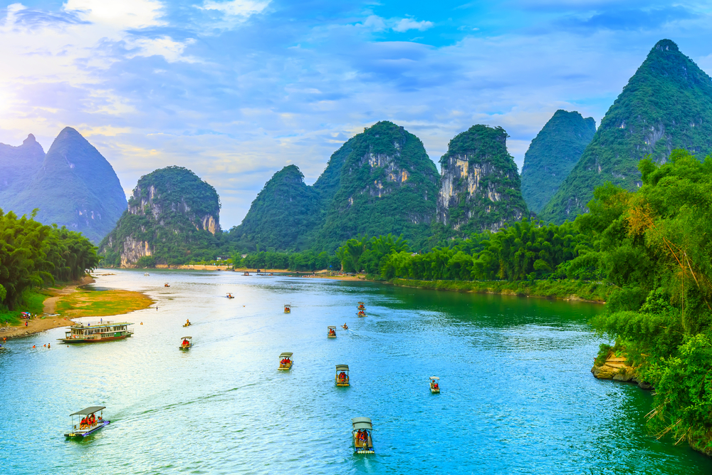 Guilin and Lijiang River